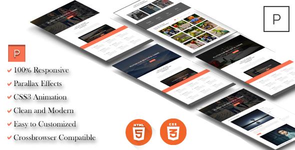 PLUTON – Minimal Multipurpose Portfolio HTML Template