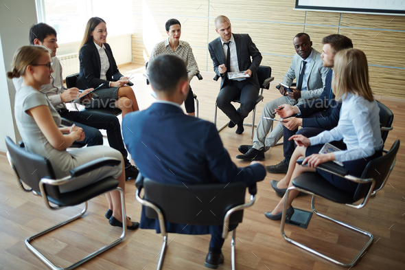 Business training - Stock Photo - Images