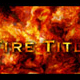 Fire Title  - VideoHive Item for Sale