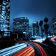 Download Los Angeles, Urban City at Sunset with Freeway Trafic from PhotoDune
