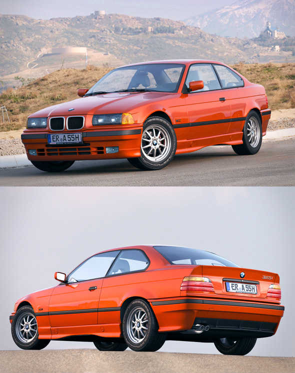BMW 3 series e36 coupe - 3DOcean Item for Sale