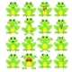 Frogs Set on White Background - GraphicRiver Item for Sale