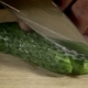 Chef Cutting Cucumber On The Board - VideoHive Item for Sale