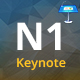 N1 Multipurpose Keynote Presentation Template - GraphicRiver Item for Sale