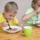 Two Cute Kid Eating - VideoHive Item for Sale