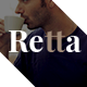 Retta - Creative Multi-Purpose PSD Template - ThemeForest Item for Sale