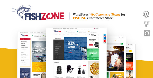Fishzone Woocommerce WordPress Theme - WooCommerce eCommerce
