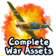 2D Complete War Assets Kit 2 of 2 - Airplanes, Tanks & more - GraphicRiver Item for Sale