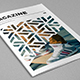 Modern Cool Pattern Magazine - GraphicRiver Item for Sale