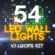 LED Lights Wall VJ Loops Kit - VideoHive Item for Sale