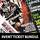 Music Concert Event Festival Ticket Bundle 3 in 1