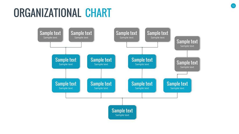 organizational charts google slidessananik | graphicriver, Presentation templates