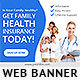 Medical and Health Insurance Banner Ad - GraphicRiver Item for Sale