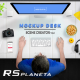 Mockup Desk Scene Creator - GraphicRiver Item for Sale