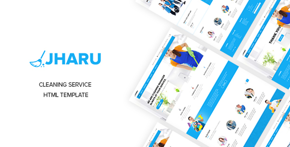 JHARU – Cleaning Service  Multipurpose HTML5 Template