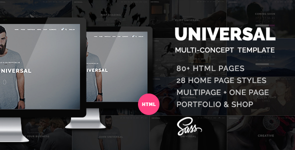 Universal – Smart Multi-purpose html5 template