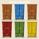 Cartoon Colorful Closed Wardrobe - GraphicRiver Item for Sale