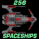 256 Topdown Spaceship Sprites - GraphicRiver Item for Sale