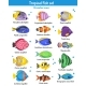 Tropical Fish Icons Set  - GraphicRiver Item for Sale