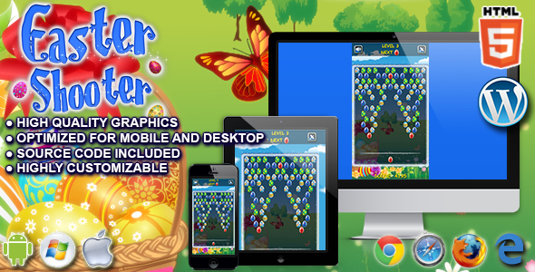 Download Sourcode              Easter Shooter - HTML5 Game nulled version