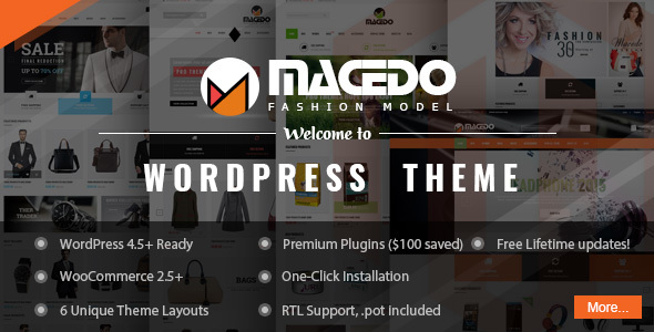 VG Macedo – Fashion Responsive WordPress Theme
