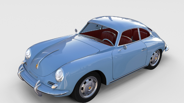 Porsche 356 rev - 3DOcean Item for Sale