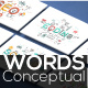 20 Thin Line Conceptual Words. Part 1 - GraphicRiver Item for Sale