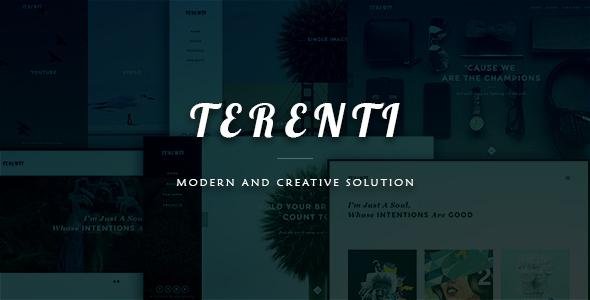 Terenti – Creative Portfolio / Agency Theme