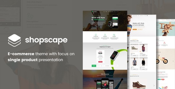 Shopscape – WooCommerce Shop