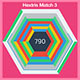 Hextris match 3 HTML 5 game
