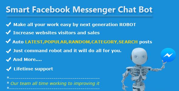 Smart Facebook Messenger Chat Bot - CodeCanyon Item for Sale