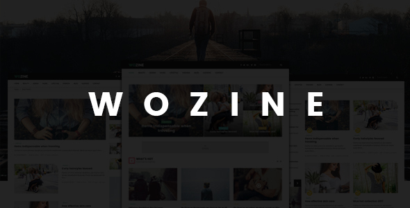 WOZINE – Responsive WordPress Theme