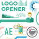Corporate Logo Opener With Elements Of Infographics - VideoHive Item for Sale