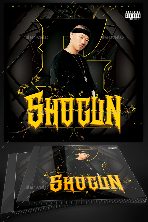 shogun mixtape cover template for photoshop by yellow emperor