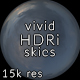 Vivid CG Skies Dusk 003 (15k resolution) - 3DOcean Item for Sale