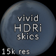 Vivid CG Skies Dusk 004 (15k resolution) - 3DOcean Item for Sale