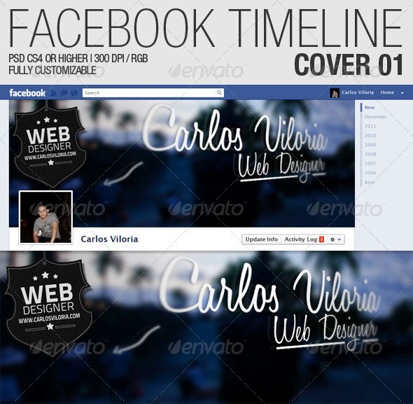 Facebook Timeline Cover 01 - Facebook Timeline Covers Social Media