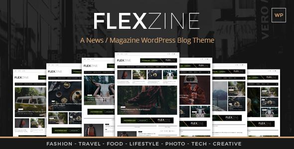 FlexZine -  Magazine PSD Template