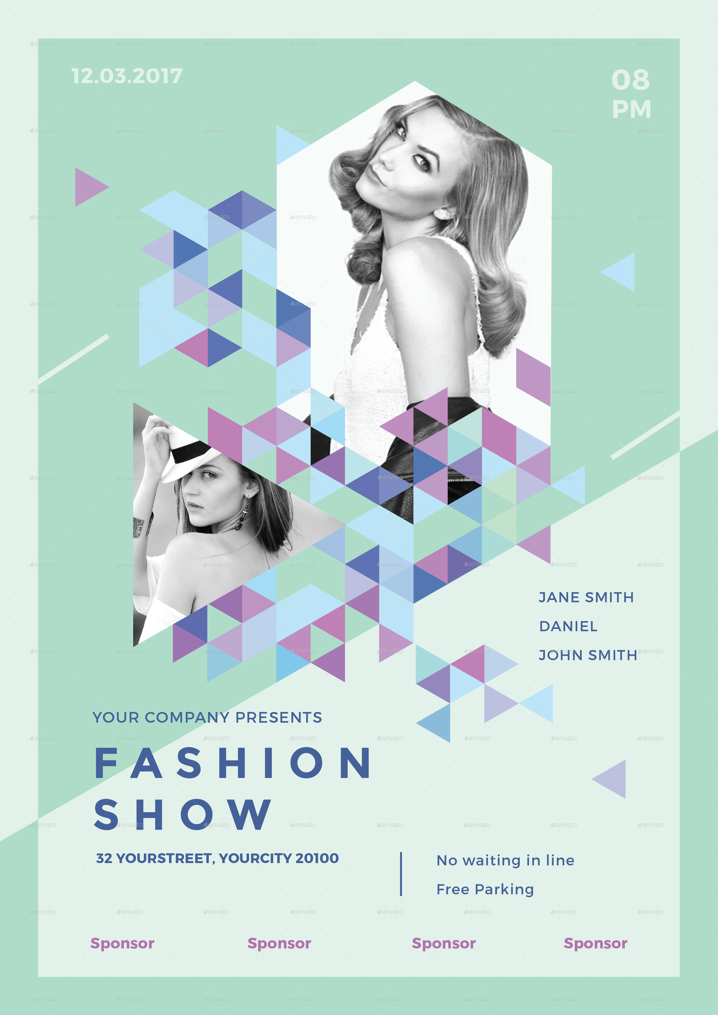 Fashion Show Poster Design Images