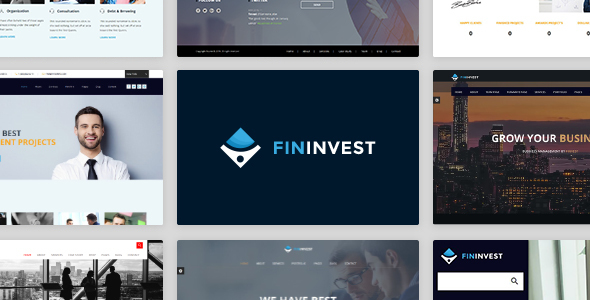 Finvest – Business, Consultancy, Finance & investment template