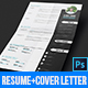 CV Resume & Cover Letter - GraphicRiver Item for Sale