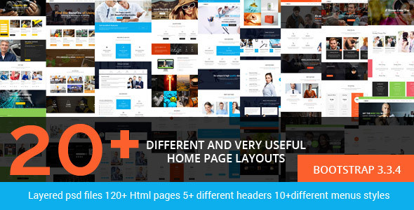 Brezz - Responsive Multi-Purpose HTML5 Template - Corporate Site Templates