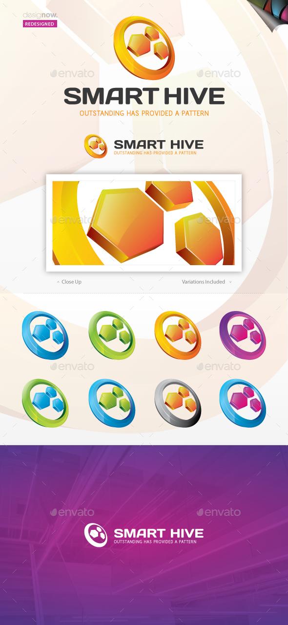 Smart Hive Logo - Abstract Logo Templates