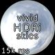 Vivid CG Skies Sun Clouds  002 (15k resolution) - 3DOcean Item for Sale