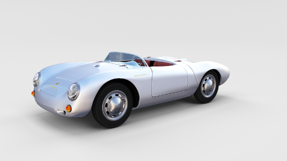Porsche 550 Spyder rev - 3DOcean Item for Sale