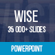 Wise Powerpoint Presentation Template - GraphicRiver Item for Sale