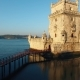 Belem Tower At Morning Lisbon Aerial View - VideoHive Item for Sale