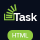 Task - Responsive HTML Business/Corporate Template Nulled