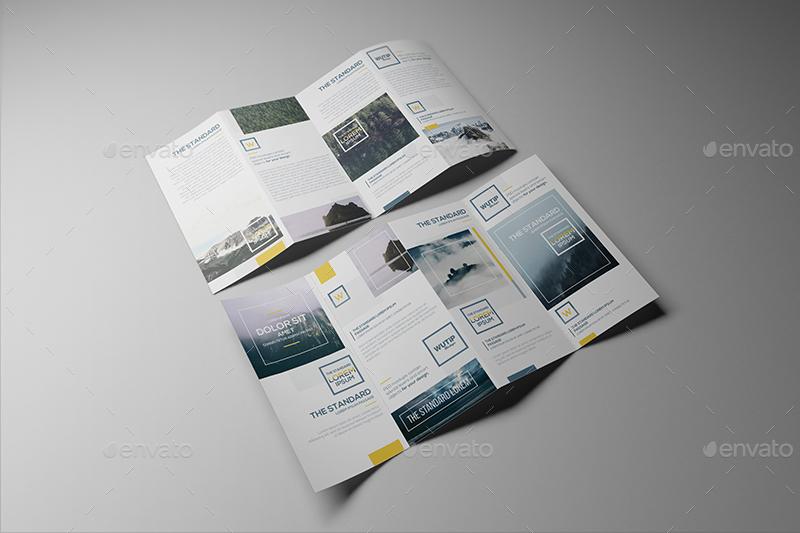 4 fold brochure
