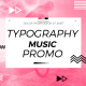 Typography Music Promo  - VideoHive Item for Sale